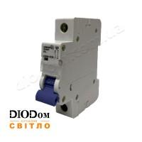 Автоматический выключатель 10A 4,5кА 1 полюс тип С LCB45 Lemanso