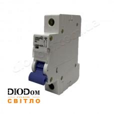 Автоматический выключатель 25A 4,5кА 1 полюс тип С LCB45 Lemanso