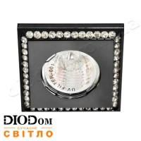 Светодиодный светильник Feron DL102-BK MR16 50W прозрачный черный