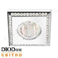 Светодиодный светильник Feron DL102-W MR16 50W (плоскоповоротный) прозрачный белый