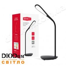 Настольная светодиодная лампа DKL 6W 4100К Ellipse (черный) MAXUS