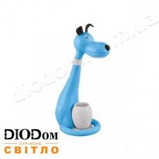 Настольная светодиодная лампа sensor SNOOPY 6W (собачка, синий) HOROZ