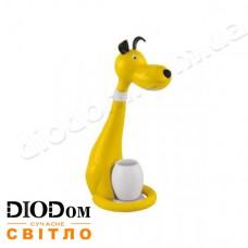 Настольная светодиодная лампа sensor SNOOPY LED 6W (собачка, желтый) HOROZ