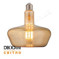 Лампа светодиодная Filament GINZA-XL Amber 8W 2200К E27 HOROZ