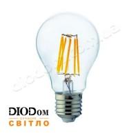 Лампа светодиодная свеча Filament globe 6W Е27 2700К HOROZ