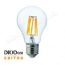 Лампа светодиодная свеча Filament globe 6W Е27 4200К HOROZ