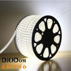 Светодиодная 52 LED лента 220V SMD5730 IP67 (холодный белый) 6W BIOM