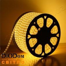 Светодиодная 52 LED лента 220V SMD5730 IP67 (теплый белый) 6W BIOM