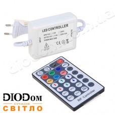 Контроллер RGB (800W-RF-28) для светодиодных лент 220V с радио-пультом на 28 кнопки 800W BIOM