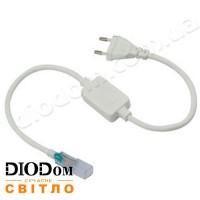 Кабель питания (LD-XS-P01) для светодиодных лент 220V 2835 на 180 диодов IP65 BIOM