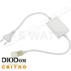Кабель питания (LD-XS-P02) для светодиодных лент 220V 5050 и 5730 на 52 диодов IP33 BIOM