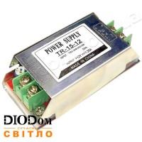 Не герметичный блок питания TR-15 DC12 15W 1А IP20 BIOM