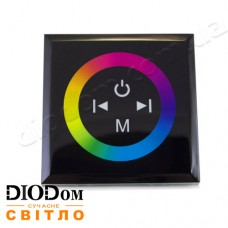 Встраиваемый сенсорный Touch контроллер RGB (черный) 12A 144W BIOM