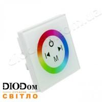 Встраиваемый сенсорный Touch контроллер RGB (белый) 12A 144W BIOM