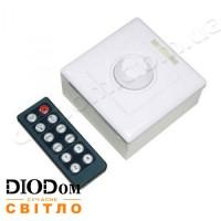 Диммер с пультом д/у на 12 кнопок IR-192 16A 192W BIOM