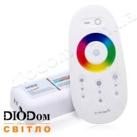 Контроллер Biom 2.4G RGBW c TOUCH SCREEN пультом д/у 8 кнопок 24А 288W