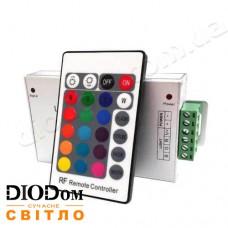 Контроллер RGB 24А с радио-пультом д/у 24 кнопки 288W BIOM