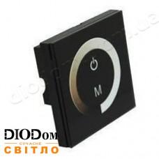Встраиваемый сенсорный диммер Touch-B (черный) 8A 96W BIOM