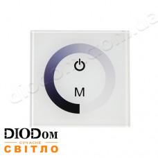 Встраиваемый сенсорный диммер Touch-B (белый) 8A 96W BIOM