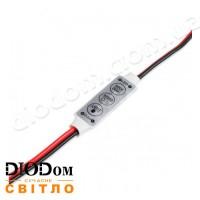 Диммер на 3 кнопки DC12 AMP-72 6A 72W SMART LED BIOM