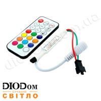 Контроллер Biom SPI Dream Color с IR-пультом 21 кнопка 1024pix 6А 144W