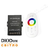 Контроллер 360W BIOM 2.4G RF RGB 30А пульт 8 кнопок + TOUCH SCREEN