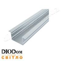 Комплект Biom 20х30 широкий профиль+рассеиватель 2м (врезной алюминиевый профиль+матовый рассеиватель)