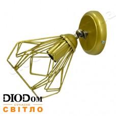Бра наклонная Loft NL 0538-1 Gold Украина