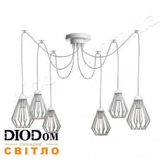 Светильник потолочный подвесной Loft NL 05371/8 spider White Украина