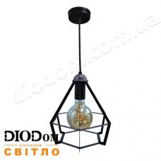 Светильник потолочный подвесной Loft NL 0637 Black Украина