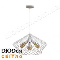 Светильник потолочный подвесной Loft NL 3429-4 White Украина