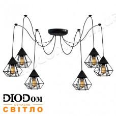 Светильник потолочный подвесной Loft NL 0535/6 spider Black Украина