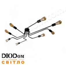 Люстра паук MSK Electric NL13060/8 Микросхема черная