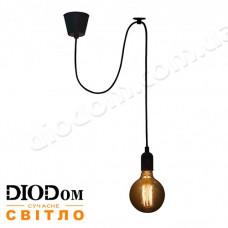 Светильник потолочный подвесной Loft NL 149-1 Black Украина