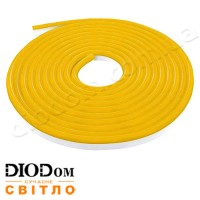 Гибкий светодиодный неон Biom 220В 120led smd3528 IP65 золотой