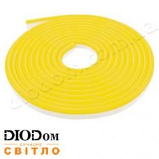 Гибкий светодиодный неон Biom 220В 120led smd3528 IP65 желтый