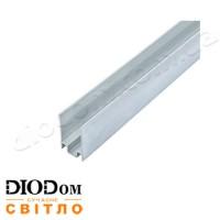 Профиль алюминиевый Biom НЕОН ЛПН-16 8х16 2м анодированный