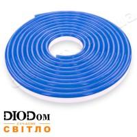 Гибкий светодиодный неон Biom 12В 120led smd3528 IP65 синий
