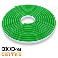 Гибкий светодиодный неон Biom 12В 120led smd3528 IP65 зеленый