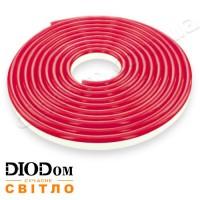 Гибкий светодиодный неон Biom 12В 120led smd3528 IP65 красный