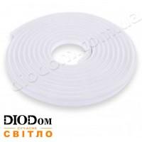 Гибкий светодиодный неон Biom 12В 120led smd3528 IP65 белый
