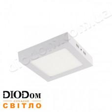 Светильник квадратный накладной Arina-12 12W 6400K Horoz