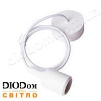 Подвесной силиконовый светильник E27 (белый) 1м LMA073 60W Lemanso