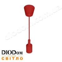 Подвесной светильник VOLTA E27 (красный) 1м 021-001-0001 60W Horoz