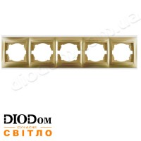 Рамка 5-я Сакура золото горизонтальная LMR1230 LEMANSO
